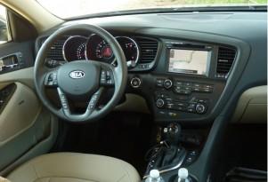 2011 Kia Optima: UVO Allows Hands-Free Calling, Audio Features