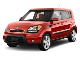 2011 Kia Soul 5dr Wagon Auto Sport Angular Front Exterior View