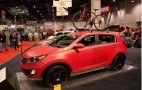 2010 SEMA: Kia Sportage Work &amp; Play Live Photos