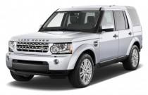 2011 Land Rover LR4 4WD 4-door V8 Angular Front Exterior View