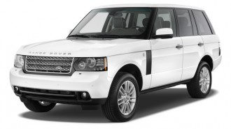 2011 Land Rover Range Rover 4WD 4-door HSE Angular Front Exterior View