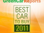 Green Car Reports 2011 Best Car to Buy Award