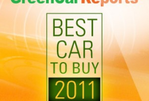 "GreenCarReports to Name ""Best Car To Buy 2011"""