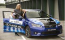 Lexus CT 200h in world's first hybrid-only race