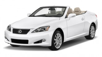 2011 Lexus IS 250C 2-door Convertible Auto Angular Front Exterior View