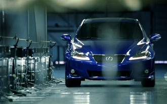 Video: Behind The Scenes Of The New 'Music Track' Commercial For The Lexus IS