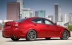 2012 Lexus IS F Gets A New Set Of Wheels, Interior Option