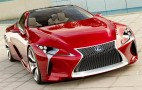 Lexus LF-LC Hybrid Concept Previewed Ahead Of 2012 Detroit Auto Show