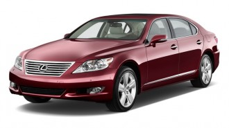 2011 Lexus LS 460 4-door Sedan L RWD Angular Front Exterior View