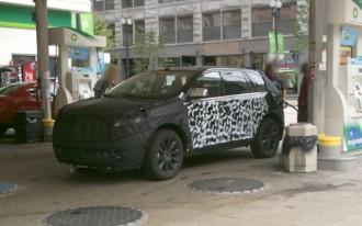Spy Shots: 2011 Lincoln MKX