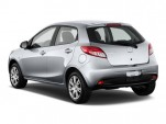 2011 Mazda MAZDA2 4-door HB Auto Sport Angular Rear Exterior View
