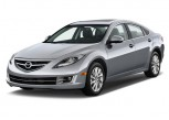 2011 Mazda MAZDA6 4-door Sedan Auto i Grand Touring Angular Front Exterior View