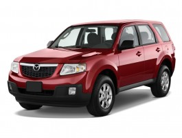 2011 Mazda Tribute FWD 4-door I4 Auto Sport Angular Front Exterior View
