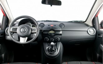 2011 Mazda2 Interior Revealed, Still Not As Snazzy As Ford Fiesta
