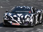 2011 McLaren P11 supercar spy shots