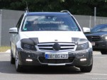 2011 Mercedes-Benz C-Class Estate facelift spy shots