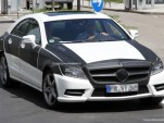 2011 Mercedes-Benz CLS with AMG sport package spy shots