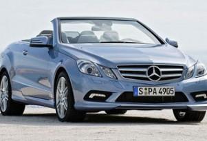Preview: 2011 Mercedes-Benz E-Class Cabriolet