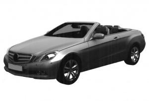 2011 Mercedes-Benz E-Class Cabrio patent design leak