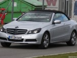 2011 Mercedes-Benz E-Class Convertible spy shots 