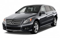 2011 Mercedes-Benz R Class 4MATIC 4-door 3.5L Angular Front Exterior View