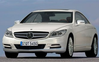 2011 Mercedes-Benz S-Class Coupe (Formerly Known As The CL)