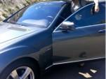 Demi Moore test drives a Mercedes-Benz S400 hybrid
