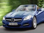 2011 Mercedes Benz SLK rendering