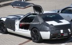 Spy shots: Mercedes Benz SLS AMG Gullwing up close
