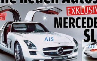 2011 Mercedes-Benz SLS AMG: First Photo, Going Electric Too?