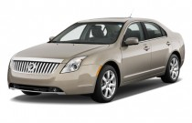 2011 Mercury Milan 4-door Sedan Premier FWD Angular Front Exterior View