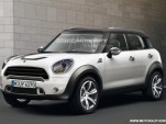 2011 Mini Crossover rendering