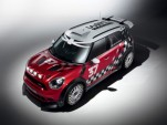 2011 MINI WRC racer