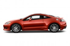 2011 Mitsubishi Eclipse 3dr Coupe Auto GS Sport Side Exterior View