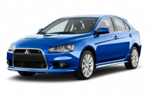 2011 Mitsubishi Lancer 5dr HB TC-SST Ralliart AWD Angular Front Exterior View
