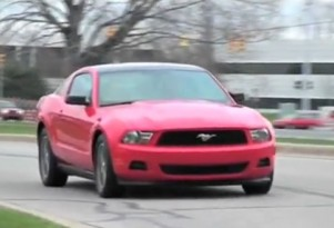 2011 Ford Mustang V-6 With 305 HP Rated At 31 MPG Highway