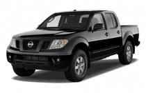 2011 Nissan Frontier 2WD Crew Cab SWB Auto PRO-4X Angular Front Exterior View