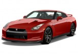 2011 Nissan GT-R 2-door Coupe Premium Angular Front Exterior View
