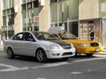 2011 Coda Sedan electric car, New York City, September 2010