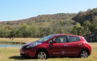 Live: First 2011 Nissan Leaf Electric Car Rolls Off Production Line