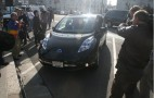 First 2011 Nissan Leaf Delivery, To Northern Californian Buyer