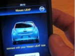2011 Nissan LEAF iPhone App