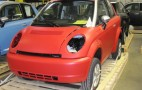 Last Few Think City Electric Cars Being Finished in Indiana