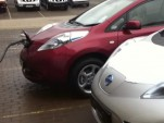 Fast Charging 2011 Nissan Leaf