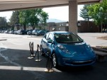 2011 Nissan LEAF in Boulder, Colo. for BolderBoulder