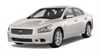 2011 Nissan Maxima 4-door Sedan V6 CVT 3.5 S Angular Front Exterior View