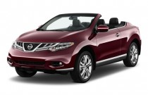 2011 Nissan Murano CrossCabriolet AWD 2-door Convertible Angular Front Exterior View