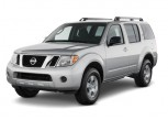 2011 Nissan Pathfinder 2WD 4-door V6 SV Angular Front Exterior View