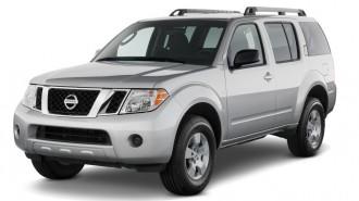 2011 Nissan Pathfinder 2WD 4-door V6 SV Angular Front Exterior View