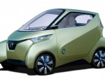 2011 Nissan Pivo 3 electric city car concept